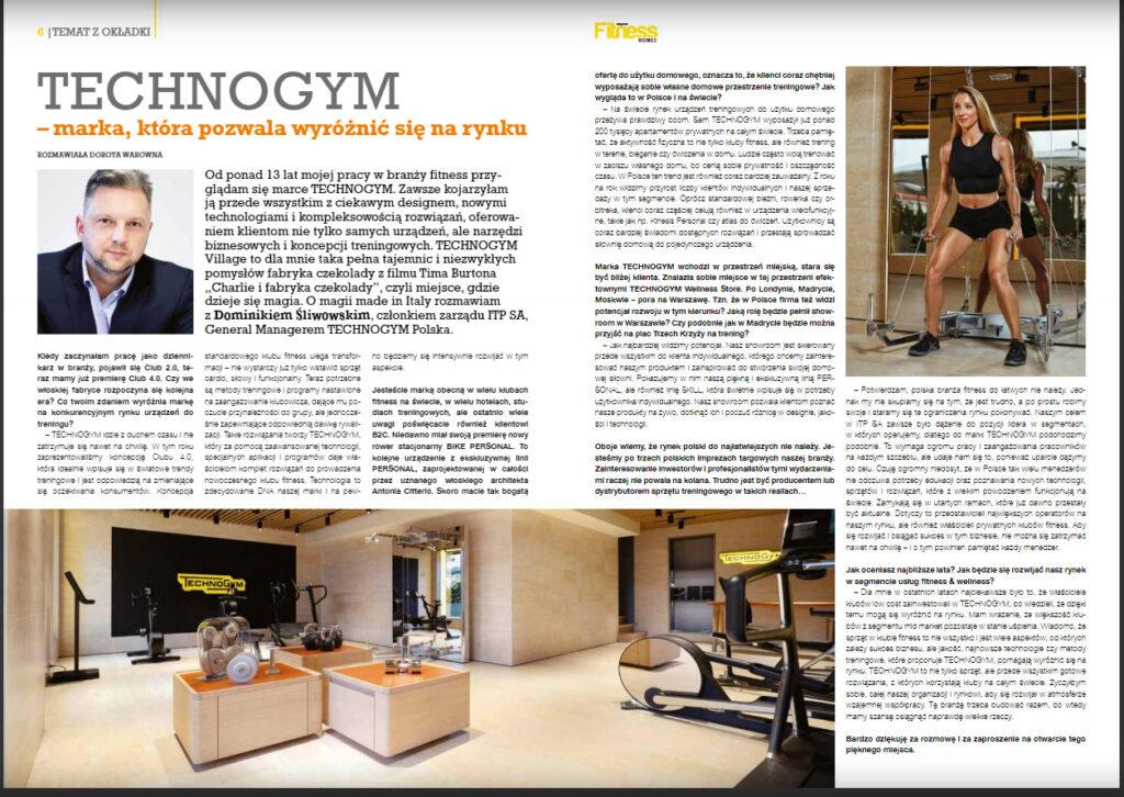 Showroom Technogym Warszawa plac trzech krzyży - Nicieja.pl Fotografia Wnętrz i Nieruchomości
