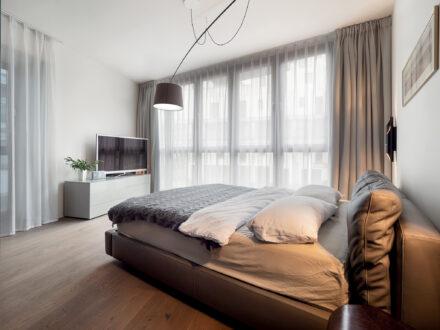 Fotografia wnętrz i nieruchomości Warszawa - Apartament Biały Kamień Eko Park