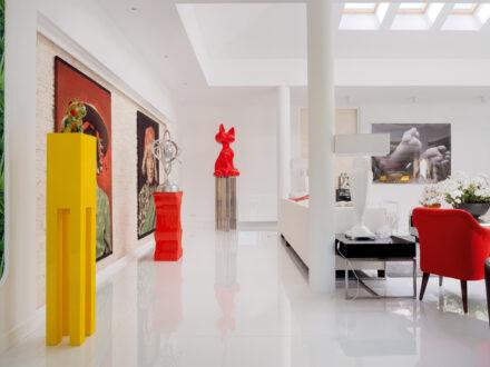 Fotografia wnętrz i nieruchomości - luksusowy dom na osiedlu Konstancja