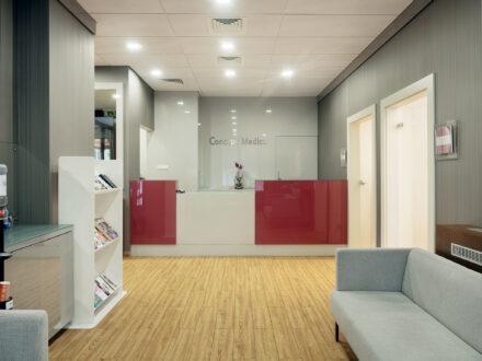 Fotografia wnętrz i nieruchomości - Klinika medyczna lokal usługowy